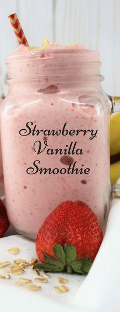 Stawberry Vanilla Smoothie