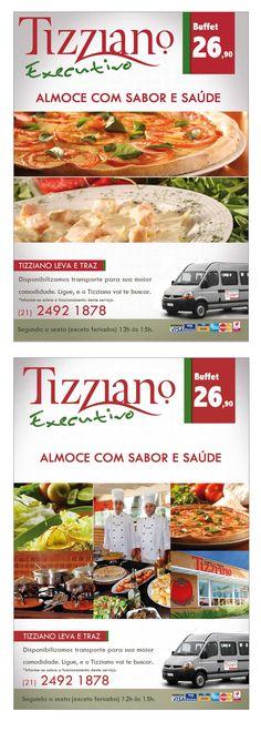 Tizziano - Anúncio e Display de Mesa
