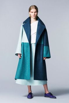 Roksanda Ilincic Pre-Fall 2014 - Runway Photos - Fashion Week - Runway, Fashion Shows and Collections - Vogue Runway Fashion, High Fashion, Winter Fashion, Fashion Show, Womens Fashion, Fashion Design, Fashion Trends, Fashion Images, Winter Typ