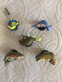 1000 images about jibbitz shoe charms clog charms on for Bass fish slippers