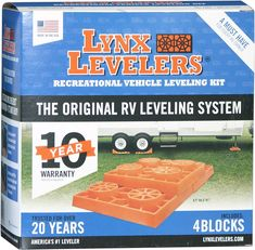 Recreational Vehicle Leveling Kit Support Base Lynx Levelers Pack of 4 NEW  #TriLynx