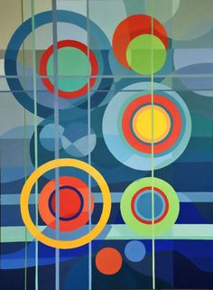 Winter, acrilic on board, Ariane Labre. Composition Art, Abstract City, Stencil Designs, Teaching Art, Minimalist Art, Geometric Art, Art And Architecture, Diy Painting, Abstract Pattern