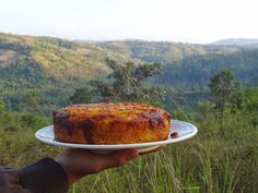orange polenta cake Orange Polenta Cake, Polenta Cakes, Orange Blossom Water, Vegetables, Cooking, Food, Kitchen, Essen, Vegetable Recipes