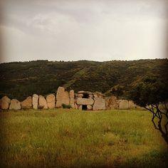 Tomba dei Giganti, Triei, Ogliastra, Sardegna.