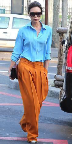 Prenez une (fraîche) leçon de style avec Victoria Beckham !