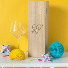 Couples Carved Heart Anniversary Personalised Wine Box https://www.myonlinegifts.co.uk/products/couples-carved-heart-anniversary-personalised-wine-box
