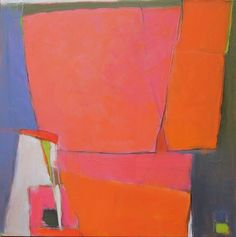 Suzanne Crocker - contemporary artist - channels Diebenkorn. That's a compliment. :)