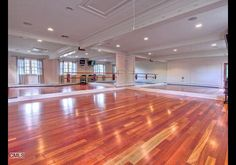 My dream house would have my own personal dance studio. And that would be my daily exercise. Modern. Improv. Ballet. <3