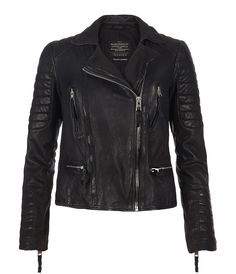 I started saving for this today. | AllSaints Pitch Leather Biker Jacket