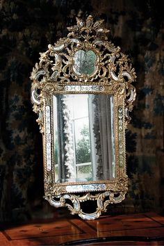 "Baroque II Mirror by Ebanista   31""w x 55""h   No: 410-000-010"