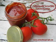 Tomatenketchup zelf gemaakt, homemade en natuurlijk