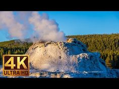 """Soak in the greatness and majesty of Yellowstone National Park that is depicted in the episode of nature documentary film """"Yellowstone Natural Wonders."""