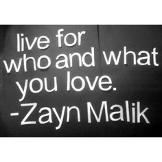 Zayn Malik and his deep quotes...I can't <3