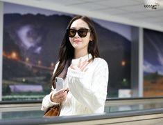 171231 Jessica arrive at Taoyuan Airport Girls Generation Jessica, Jessica Jung, Snsd, White Dress, Dresses, Fashion, Vestidos, Moda, Fashion Styles