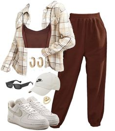 Teen Fashion Outfits, Retro Outfits, Grunge Outfits, Stylish Outfits, Cute Dress Outfits, Lazy Day Outfits, Aesthetic Grunge Outfit, Luxury Lifestyle Fashion, Brown Outfit