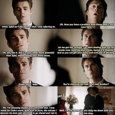 """#TVD 8x09 """"The Simple Intimacy of the Near Touch"""" -  Stefan and Damon"""