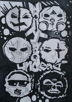 hollywood undead tattoo hollywood undead _ hollywood undead lyrics _ hollywood undead wallpapers _ hollywood undead memes _ hollywood undead tattoo _ hollywood undead quotes _ hollywood undead j dog _ hollywood undead danny Lyric Drawings, Art Drawings, Tattoo Drawings, Tattoos, Hollywood Undead Quotes, Mask Drawing, Dog Mask, Scene Kids, Wishing Well