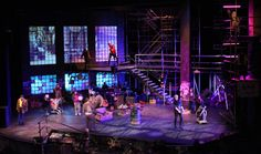 set design for rent the musical - Google Search