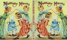 Nursery hour book- miniature print
