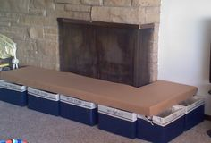 Baby proof fireplace hearth