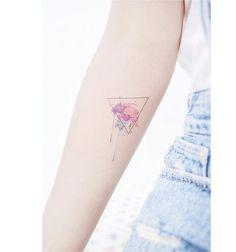 : triangle+ watercolor . . #tattooistbanul #tattoo #tattooing #watercolortattoo #watercolor #tattoosupplybell #tattoomagazine #tattooartist #triangletattoo #tattooart #color-tattoo #tattooinkspiration #타투이스트바늘 #타투 #수채화타투