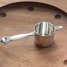 """Acorn by Georg Jensen Sterling Silver Tea Caddy 4 1//8/"""""""