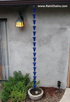 Homemade Rain Chain Rain Chains A Decorative