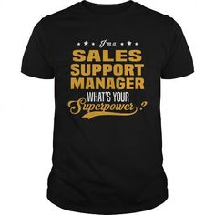 I Love Sales Support Manager Shirts & Tees #tee #tshirt #Job #ZodiacTshirt #Profession #Career #sales manager