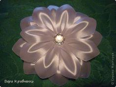 PETAL TUTORIAL Master class Tsumami Kanzashi: MK leaf to flower № 6 Tapes.  Photo 1