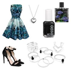 """""""Untitled #406"""" by paisleydpatch ❤ liked on Polyvore featuring STELLA McCARTNEY, Pandora, Essie and Nest"""