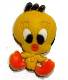 Tweety Bird sitting in Looney Tunes JIBBITZ Crocs Hole Bracelet Shoe Charm by Looney Tunes. $6.99. Tweety Bird Jibbitz ~ Croc Shoe Charm Condition: NEW; NIP (Smoke-free home) Dimensions: 0.75 X 1 inch Quantity: One (1) Jibbitz Charm MSRP: $7.99 ~ Fun Jibbitz to add to anyone's collection. ~ YOU WILL RECEIVE THE EXACT ITEM SHOWN IN THE PHOTO ~ glos-collectibles.hostedbyamazon.com