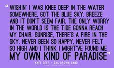 ZAC BROWN!