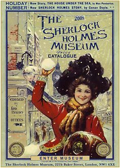 1ST DAY I'm an avid reader of classic detective stories and Sir Arthur Conan Doyle is a favourite. So it's no mystery why I want my first London experience to be at the Sherlock Holmes Museum.