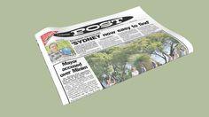 Jornal dobrado - 3D Warehouse