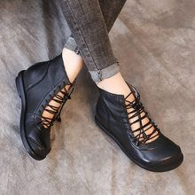 Babakud Frauen Schnüren Hallow Out Hidden Heel Stiefel - Women Shoes Cute Womens Shoes, Womens Shoes Wedges, Casual Heels, Casual Boots, Moda Sneakers, Shoes Sneakers, Leather Shoe Laces, Fashion Shoes, Sneakers Fashion