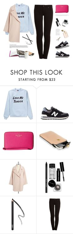 """Street style."" by yexyka ❤ liked on Polyvore featuring Opening Ceremony, New Balance, Kate Spade, Alexander McQueen, Vince Camuto, Bobbi Brown Cosmetics, GESTALTEN, NARS Cosmetics and Genetic Denim"
