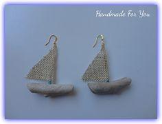driftwood earrings www.facebook.com/gmhandmade