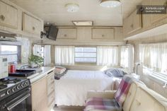 Camper Remodel w/ Adjacent Hot Tub. Berkeley, California. Yes.