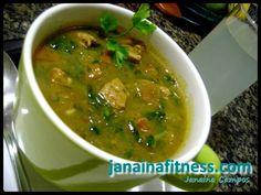 Sopa Verde sem Carboidratos