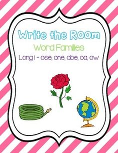 Write the Room - Long o Word Family
