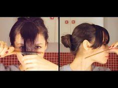 Cómo cortar el flequillo en casa y cuál elegir según el tipo de rostro. - YouTube