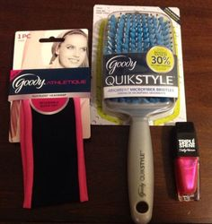 Goody Athletique, Goody Quickstyle, And Sally Hansen Triple Shine. Brand New!
