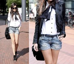 1. leather jacket, ZARA