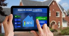 By installing automation solutions in your home or workplace you can control everything at your fingerprint. We offer quality, affordable, high-tech, costumer friendly, and customized smart home and office solutions. Diy Home Security, Wireless Home Security, Safety And Security, Home Security Systems, Security Camera, Security Tools, Home Automation System, Smart Home Automation, Smart Home Technology