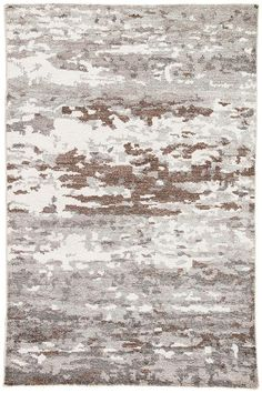 Jaipur Living Krona Hand-Knotted Abstract Gray/ White Area Rug - distinctive area rug brings eclectic style to the contemporary home, offering a luxe and irresistible feel with a hand-knotted construction. A pixelated design in gray, Hallway Carpet Runners, Cheap Carpet Runners, Grey And White Rug, White Area Rug, Gray, Carpet Decor, Rugs On Carpet, Shag Carpet, Jaipur Rugs