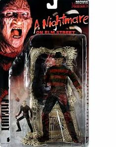 1998 Movie Maniacs Series 1 Bloody Version - Freddy from A Nightmare on Elm Street by McFarlane Toys @ niftywarehouse.com #NiftyWarehouse #NightmareOnElmStreet #Halloween #Freddy #FreddyKrueger #Horror #HorrorMovies