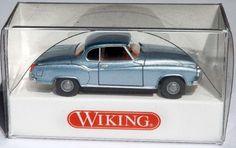 "823 35 27 Wiking Modellauto ""Borgward Isabella Coupé"" WIE NEU in OVP"
