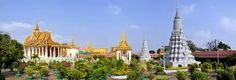 Royal Palace, Phnom Penh Cambodia;  In Phnom Penh, Cambodia, is a complex of buildings which serves as the royal residence of the king of Cambodia.... Ted Frank