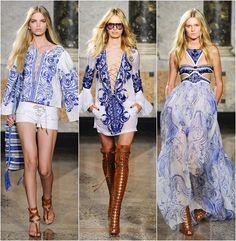 Desejos de uma fashionista...: Tendência: Estampa azulejo português