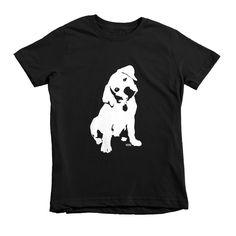Labrador Retriever Puppy Kids T-shirt, Labrador Youth Shirt, Labrador T Shirt, Personalized Niece Gift, Granddaughter Gift, Labrador Gifts by MONOFACESoCHILDREN on Etsy